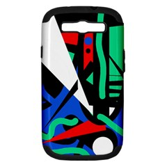 Find Me Samsung Galaxy S Iii Hardshell Case (pc+silicone) by Valentinaart