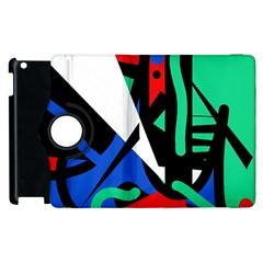 Find Me Apple Ipad 2 Flip 360 Case by Valentinaart