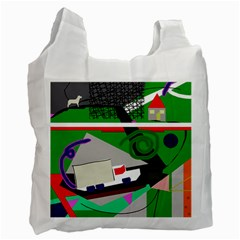 Trip Recycle Bag (two Side)  by Valentinaart