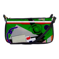 Trip Shoulder Clutch Bags by Valentinaart