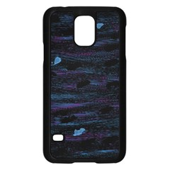 Blue Moonlight Samsung Galaxy S5 Case (black) by Valentinaart