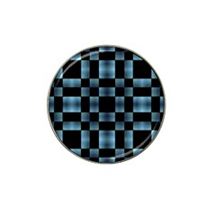 Checkboard Pattern Print Hat Clip Ball Marker (10 Pack) by dflcprints
