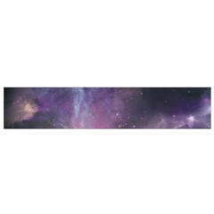 Blue Galaxy Flano Scarf (small) by DanaeStudio