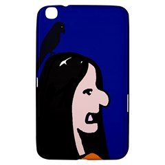 Girl And Bird Samsung Galaxy Tab 3 (8 ) T3100 Hardshell Case  by Valentinaart