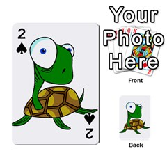 Turtle Playing Cards 54 Designs  by Valentinaart