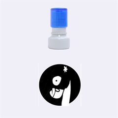 Monster Rubber Round Stamps (small) by Valentinaart
