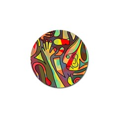 Colorful Dream Golf Ball Marker (4 Pack) by Valentinaart