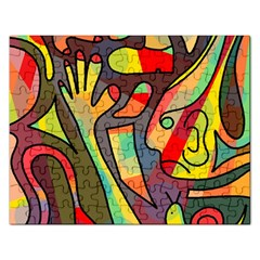 Colorful Dream Rectangular Jigsaw Puzzl by Valentinaart