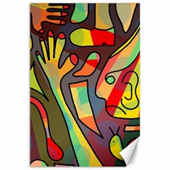 Colorful Dream Canvas 24  X 36  by Valentinaart