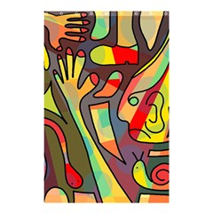 Colorful Dream Shower Curtain 48  X 72  (small)  by Valentinaart