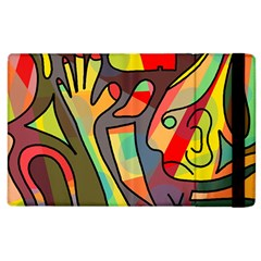 Colorful Dream Apple Ipad 2 Flip Case by Valentinaart