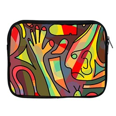 Colorful Dream Apple Ipad 2/3/4 Zipper Cases by Valentinaart