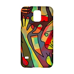 Colorful dream Samsung Galaxy S5 Hardshell Case  by Valentinaart
