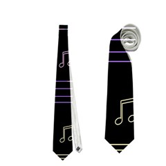 Music Pattern Neckties (two Side)