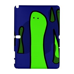 Green Snakes Samsung Galaxy Note 10 1 (p600) Hardshell Case by Valentinaart