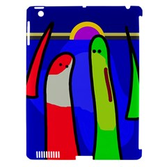 Colorful Snakes Apple Ipad 3/4 Hardshell Case (compatible With Smart Cover) by Valentinaart