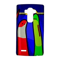 Colorful Snakes Lg G4 Hardshell Case by Valentinaart