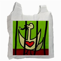 Duck Recycle Bag (two Side)