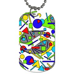 Find It Dog Tag (one Side) by Valentinaart