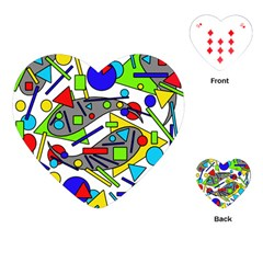 Find It Playing Cards (heart)  by Valentinaart