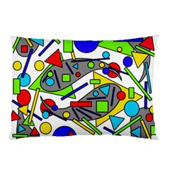 Find It Pillow Case (two Sides) by Valentinaart