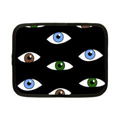 Look At Me Netbook Case (small)  by Valentinaart