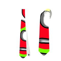 Colorful Graffiti Neckties (two Side)  by Valentinaart