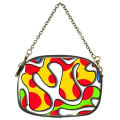 Colorful Graffiti Chain Purses (one Side)
