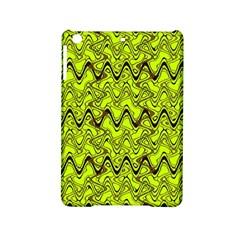 Yellow Wavey Squiggles Ipad Mini 2 Hardshell Cases by BrightVibesDesign