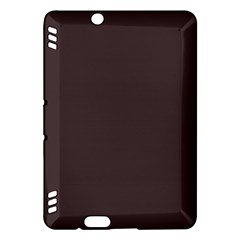 Woody Brown Colour Kindle Fire HDX Hardshell Case by artpics