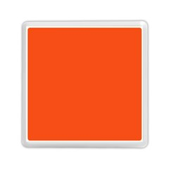 Vermilion Colour Memory Card Reader (Square)  by artpics