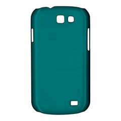 Teal Colour Samsung Galaxy Express I8730 Hardshell Case  by artpics