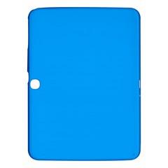 Sky Blue Colour Samsung Galaxy Tab 3 (10.1 ) P5200 Hardshell Case  by artpics