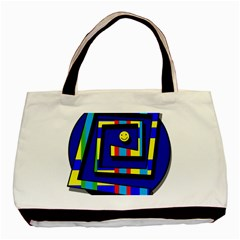 Maze Basic Tote Bag by Valentinaart