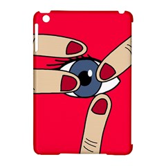 Poke In The Eye Apple Ipad Mini Hardshell Case (compatible With Smart Cover) by Valentinaart