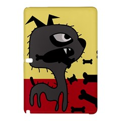 Angry little dog Samsung Galaxy Tab Pro 12.2 Hardshell Case by Valentinaart