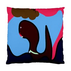 Sea Monster Standard Cushion Case (one Side) by Valentinaart