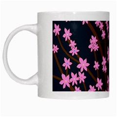 Japanese Tree  White Mugs by Valentinaart