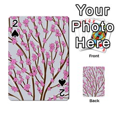 Cherry Tree Playing Cards 54 Designs  by Valentinaart