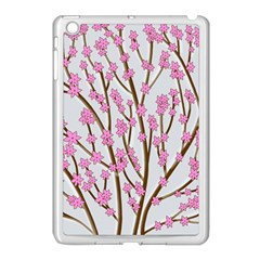 Cherry Tree Apple Ipad Mini Case (white) by Valentinaart