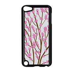 Cherry Tree Apple Ipod Touch 5 Case (black) by Valentinaart