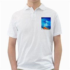 Wild sea themes art prints Golf Shirts by artistpixi