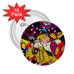 New Year 2 25  Buttons (10 Pack)  by Valentinaart
