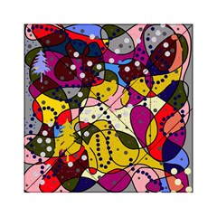 New Year Acrylic Tangram Puzzle (6  x 6 ) by Valentinaart