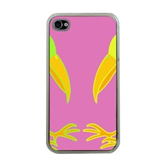 Parrots Apple Iphone 4 Case (clear) by Valentinaart