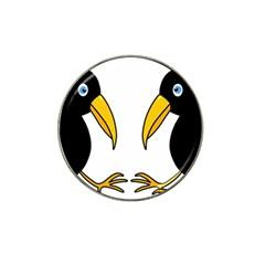 Ravens Hat Clip Ball Marker (10 Pack) by Valentinaart