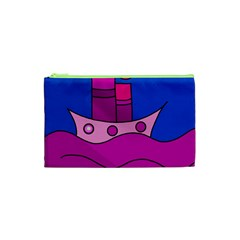 Boat Cosmetic Bag (xs) by Valentinaart