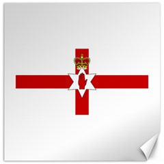 Ulster Banner Canvas 16  X 16   by abbeyz71