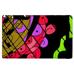 Elegant Abstract Decor Apple Ipad 2 Flip Case by Valentinaart