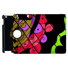 Elegant Abstract Decor Apple Ipad 3/4 Flip 360 Case by Valentinaart